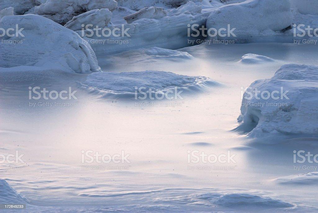 Arctic Ice stock photo
