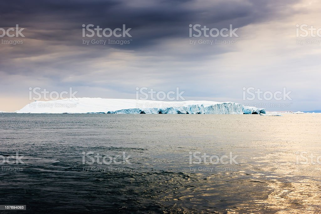 Arctic Iceberg Greenland royalty-free stock photo