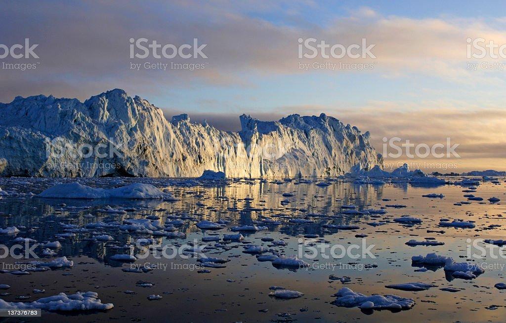 Arctic Iceberg royalty-free stock photo