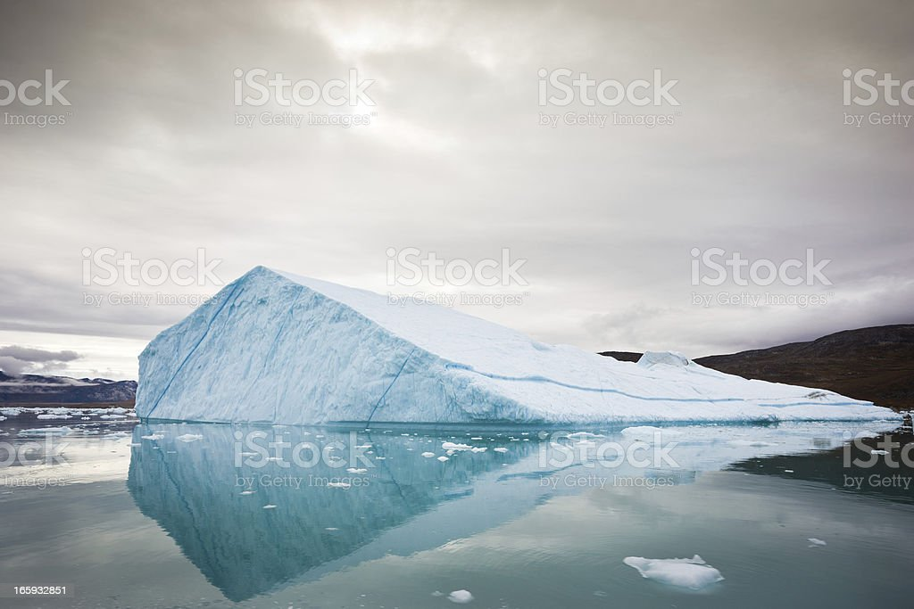 Arctic Iceberg stock photo