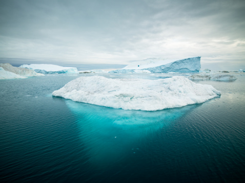 Arctic Icebergs Greenland Xxxl Stock Photo - Download Image Now