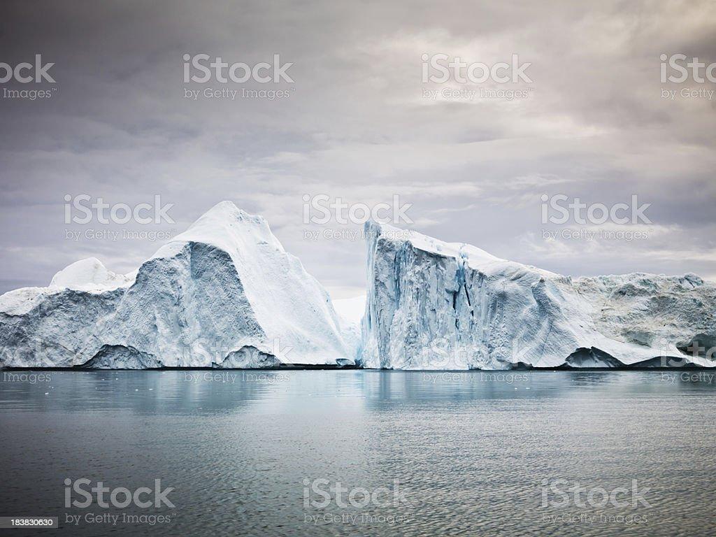 Arctic Icebergs North Pole Ilulissat Ice Fjord royalty-free stock photo