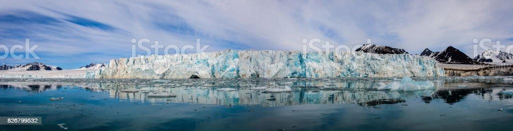 Arctic landscape stock photo