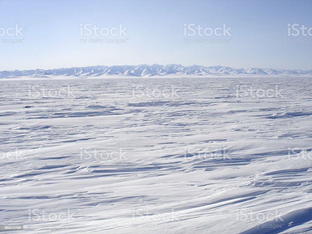 Arctic Landscape - Royaltyfri Arktis Bildbanksbilder