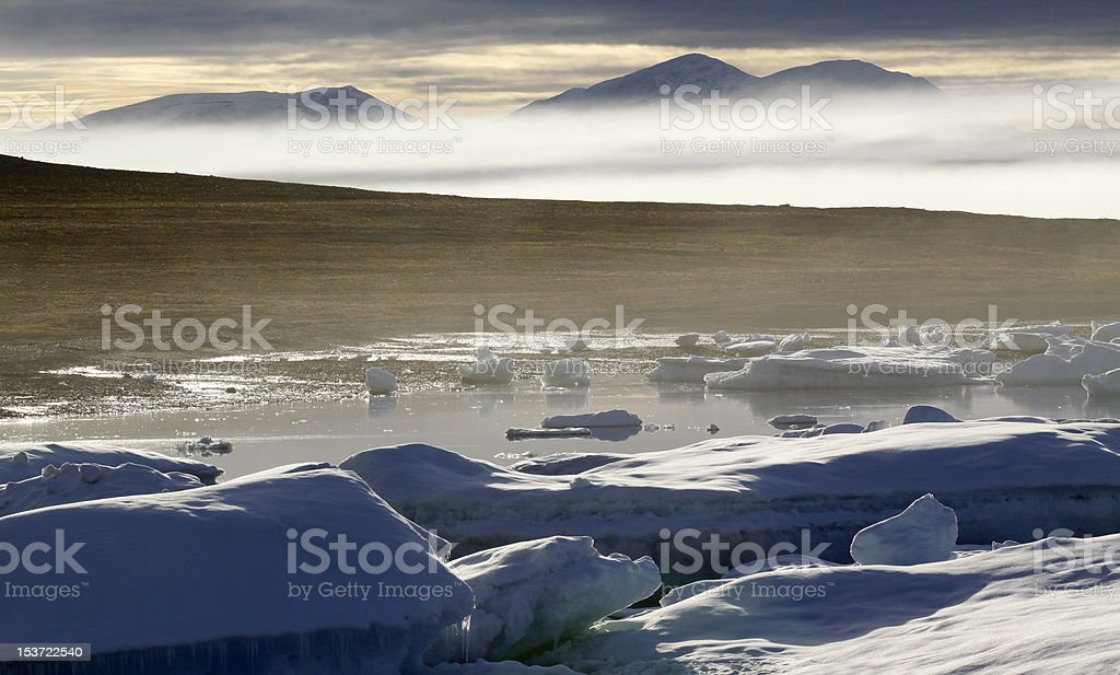Arctic, Nunavut - Aug. 2010 stock photo