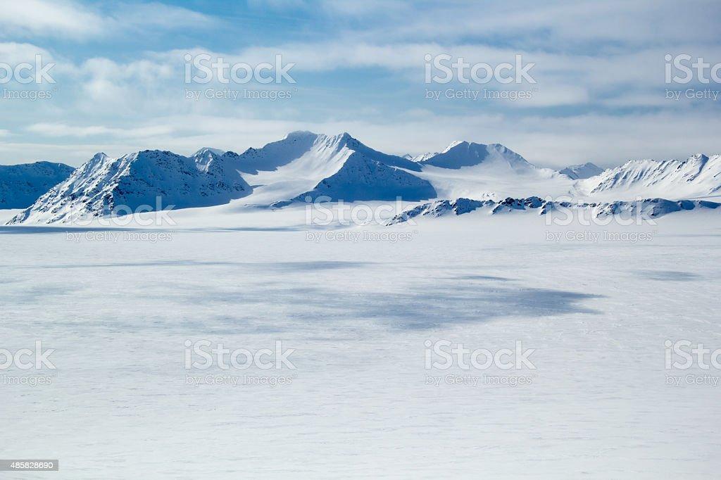 Arctic Frühling im Süden von Spitzbergen. – Foto