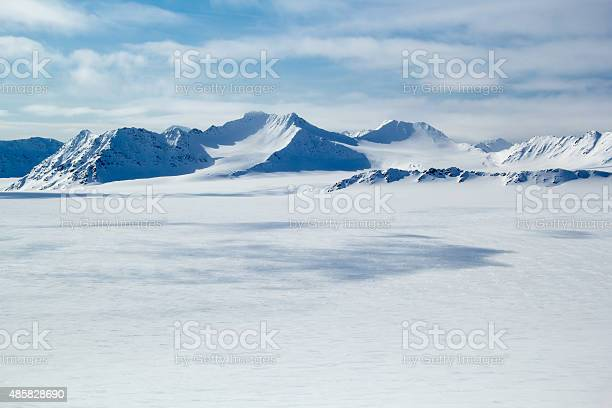 Photo of Arctic spring in south Spitsbergen.