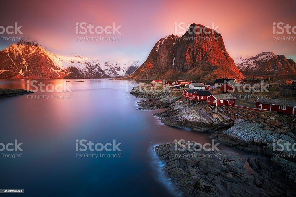Arctic Sunrise stock photo