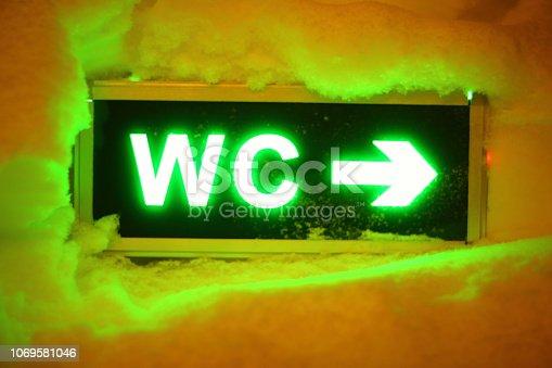 istock Arctic wc toilet 1069581046