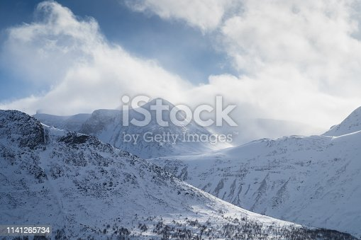 1141614053 istock photo Arctic wind in the mountains 1141265734