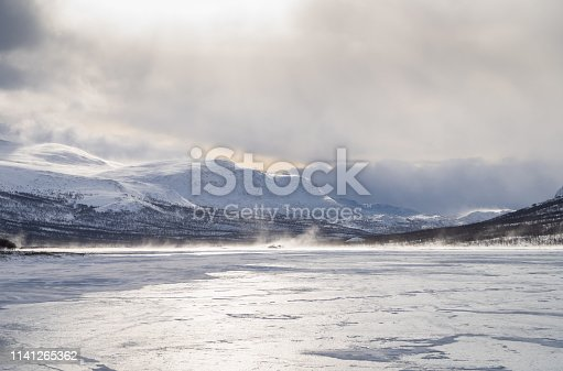 1141614053 istock photo Arctic wind over a river 1141265362