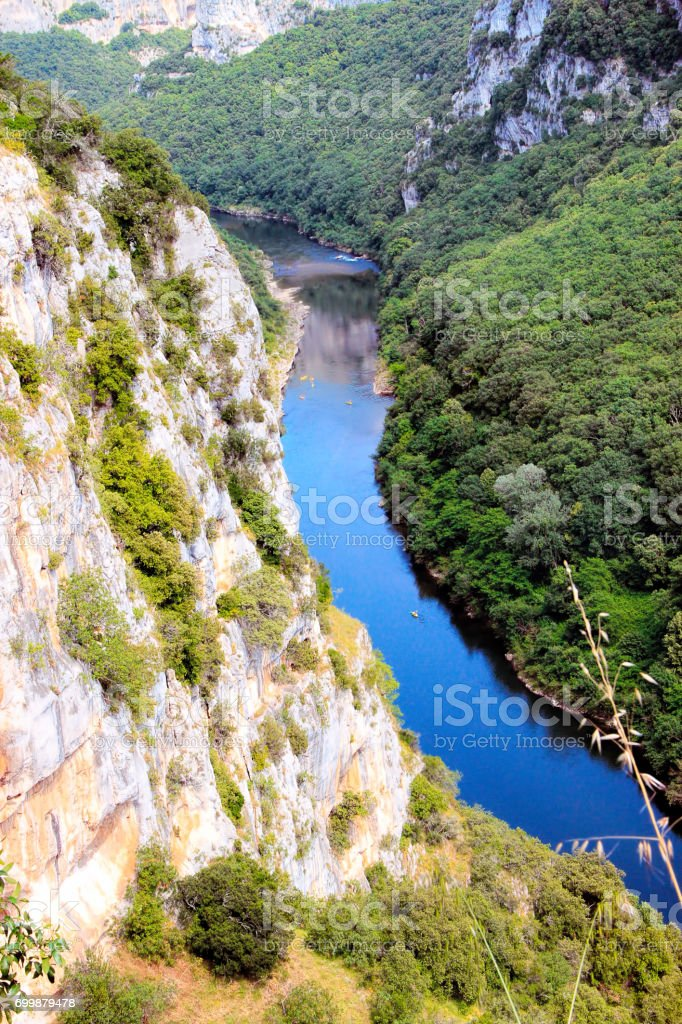 Gorges de l'Ardèche, au sud de la France - Photo
