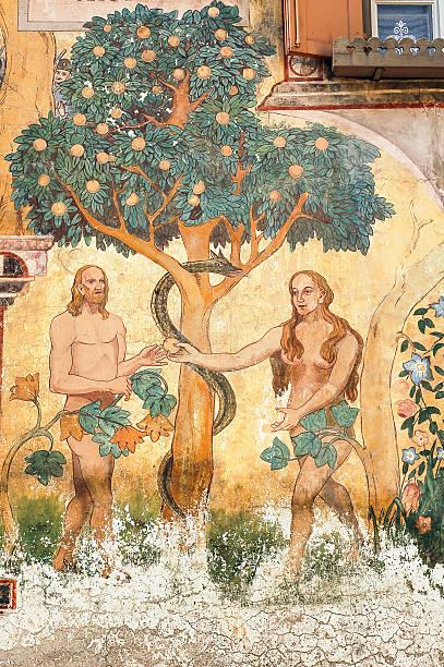 Ardez (Engadin): Adam and Eve – Foto