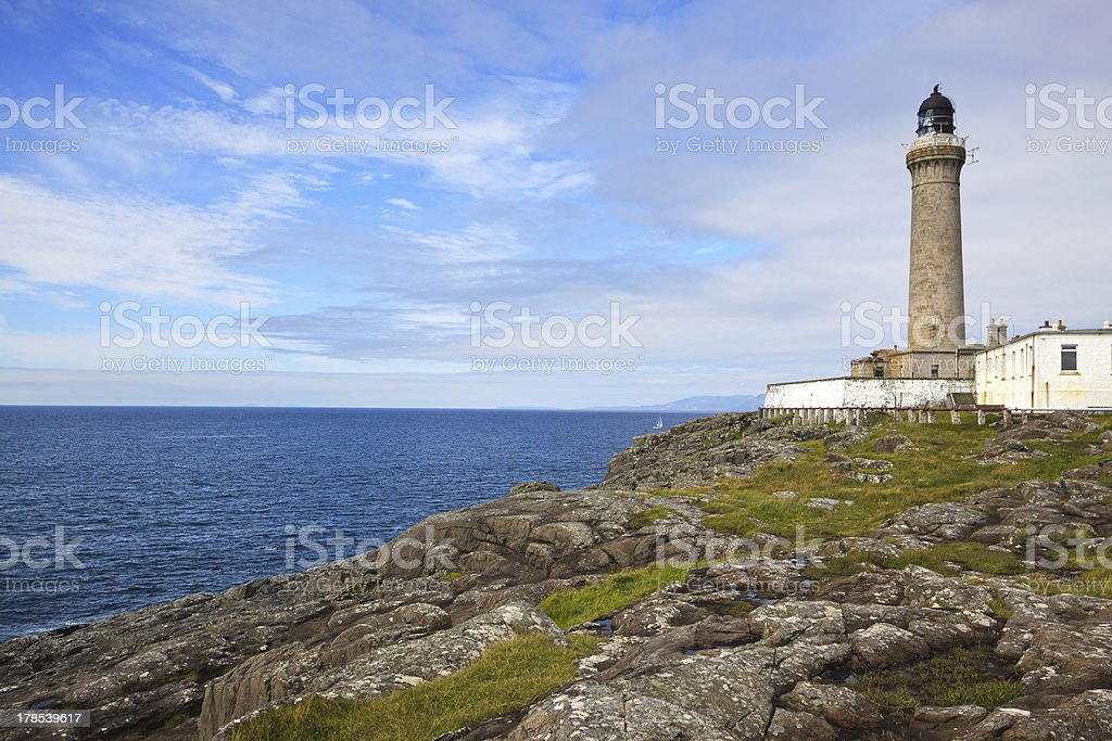 Ardnamurchan Lighthouse stock photo