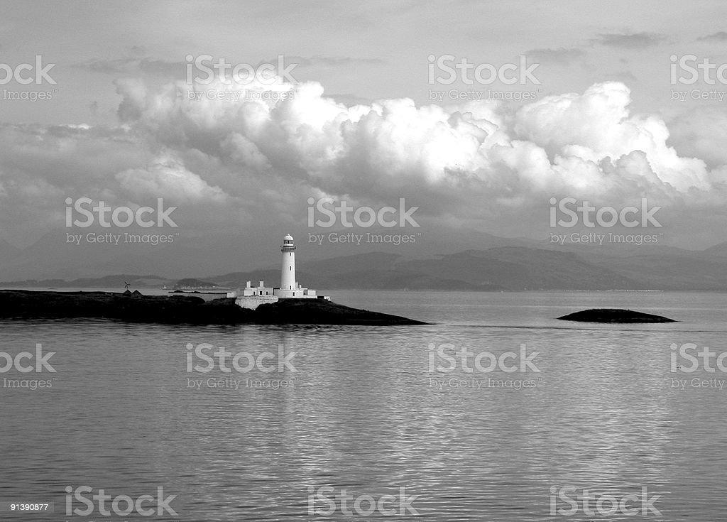Ardnamurchan Point, West Coast of Scotland  Acute Angle Stock Photo