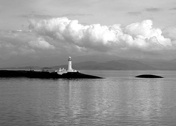 Ardnamurchan Point, West Coast of Scotland stock photo