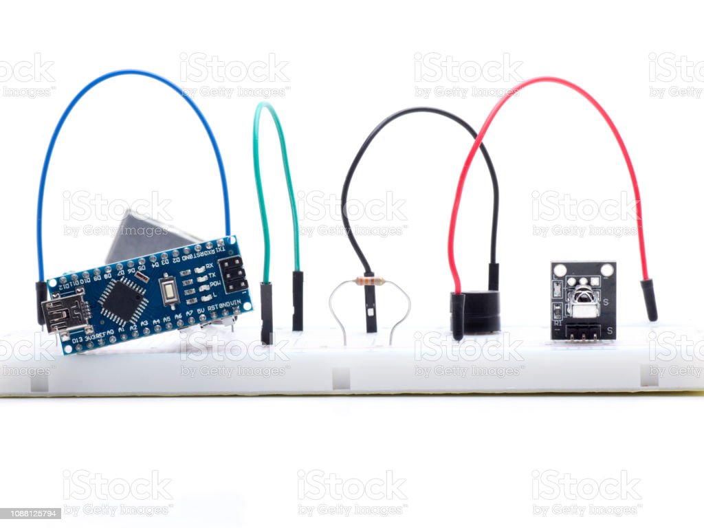 arduino infrared receiver stock photo