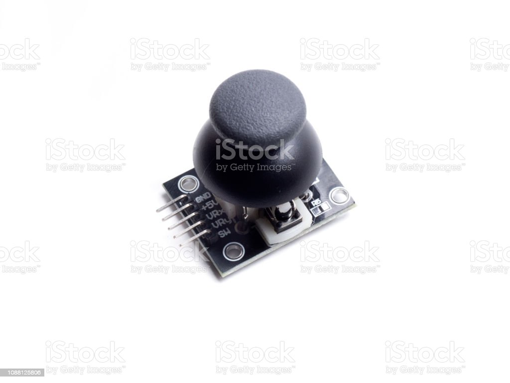 arduino joystick sensor stock photo