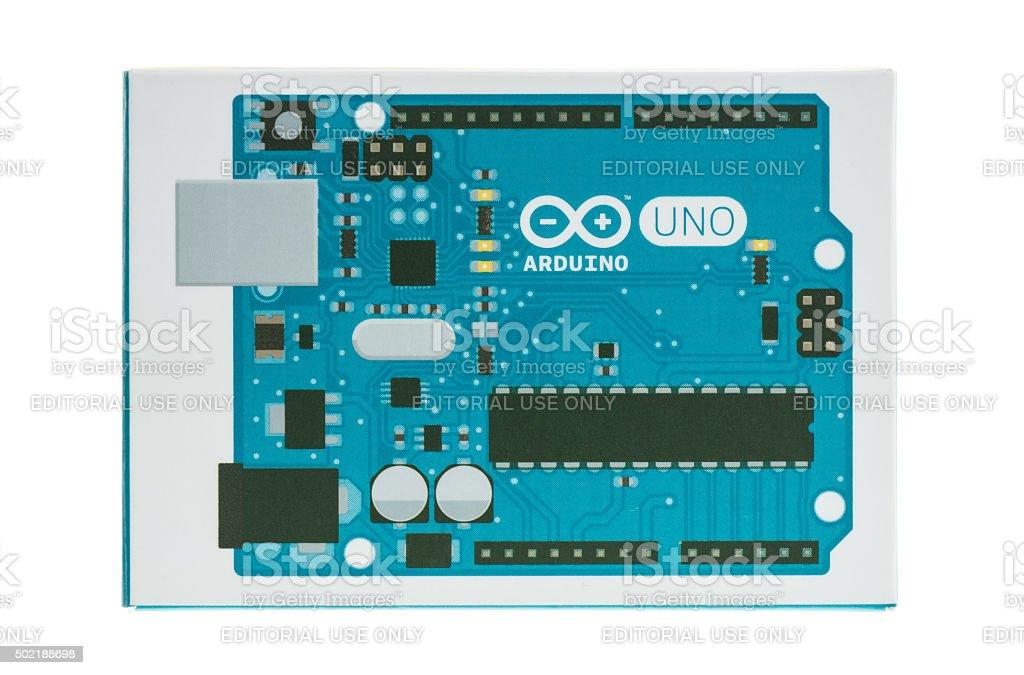 Caja para Arduino Uno - foto de stock