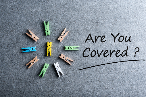 istock Are You Covered - Car, travel, home, health or other liability insurance concept 924572250
