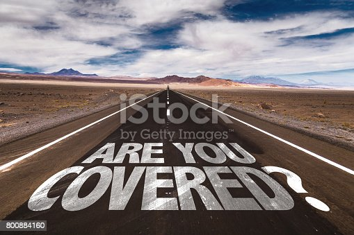 istock Are You Covered? 800884160