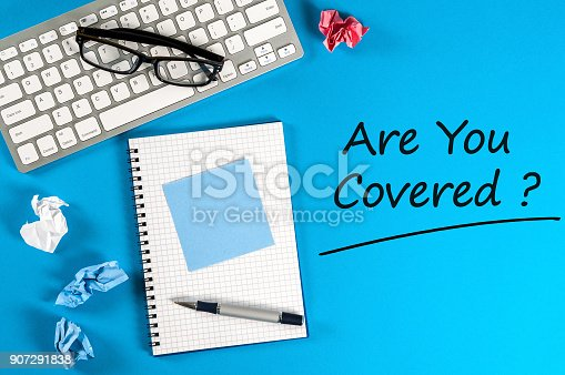 istock Are you covered? 907291838