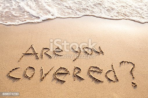 istock are you covered, travel insurance concept 638374230