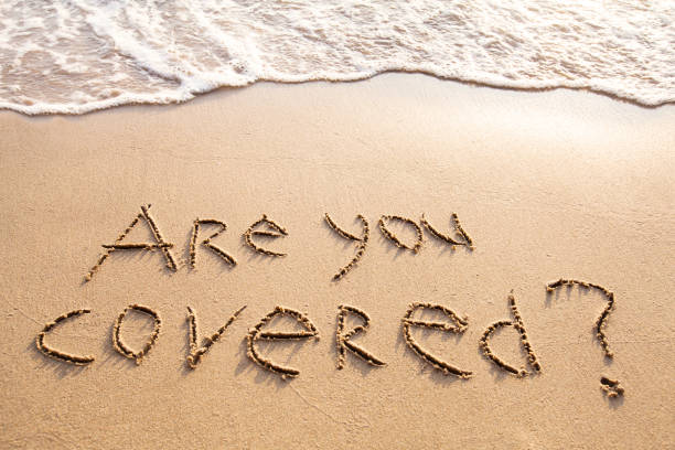 are you covered, travel insurance concept – Foto