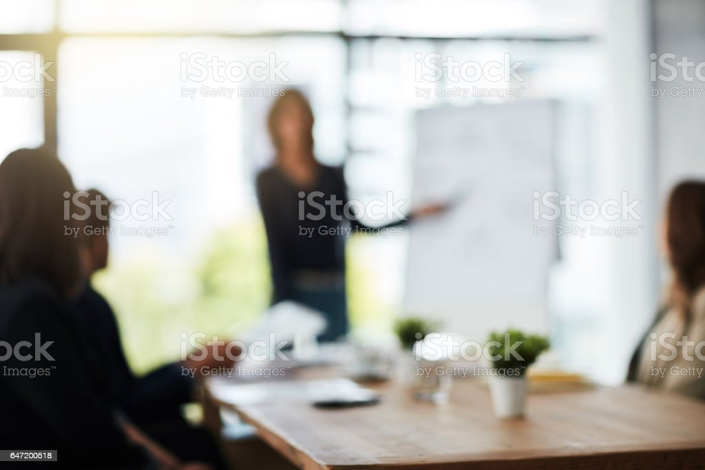 Are you having trouble staying focussed at work? stock photo