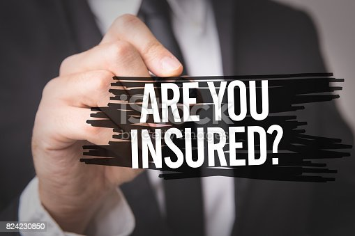 istock Are You Insured? 824230850