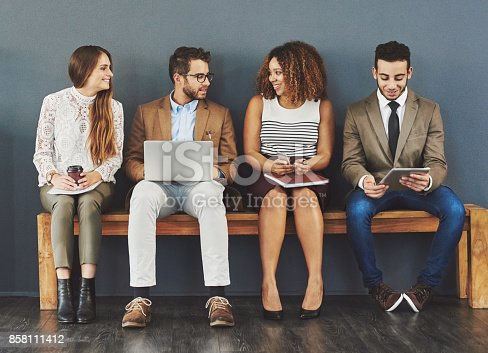 istock Are you ready for the interview? 858111412