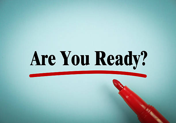 are you ready - förberedelse bildbanksfoton och bilder
