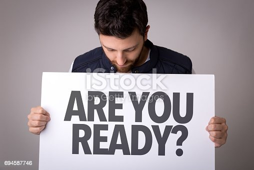 istock Are You Ready? 694587746