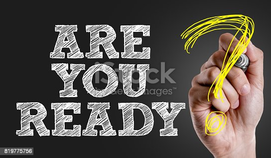 694587746 istock photo Are You Ready? 819775756