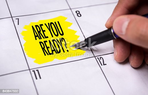 694587746 istock photo Are You Ready? 843847532
