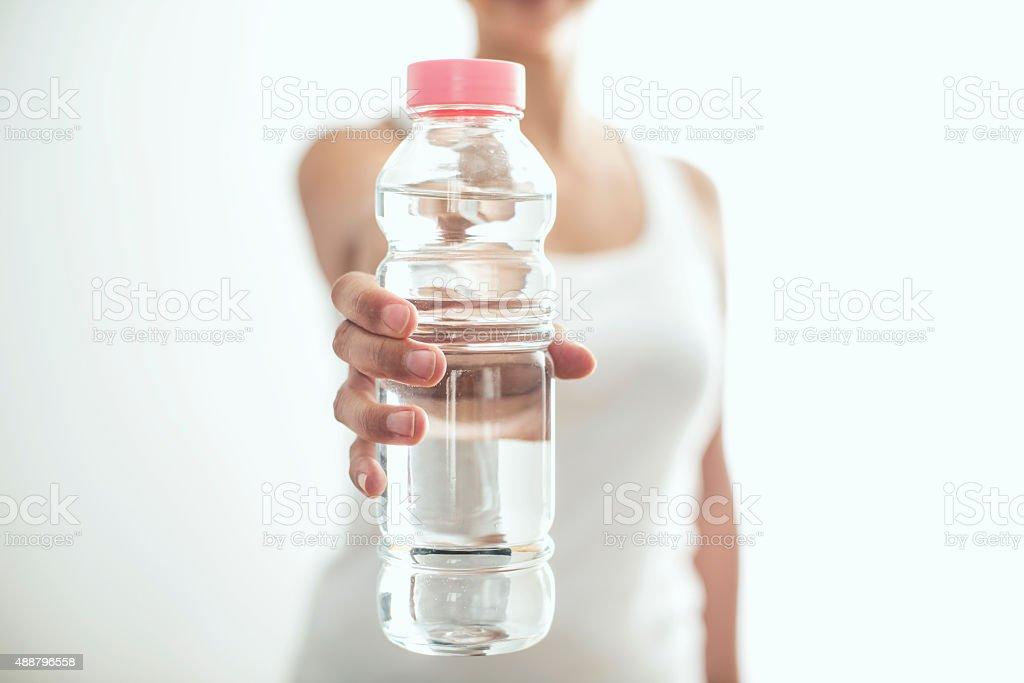 ¿Usted sediento - foto de stock