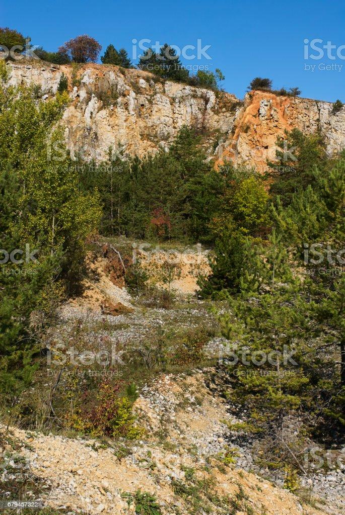 Area around Koneprusy caves, Czech Karst or Bohemian Karst, Czech Republic royalty-free stock photo