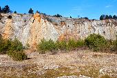 Area around Koneprusy caves, Czech Karst or Bohemian Karst, Czech Republic