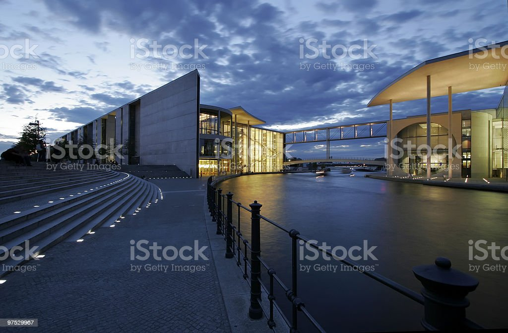 Area of government administration in Berlin royalty-free stock photo