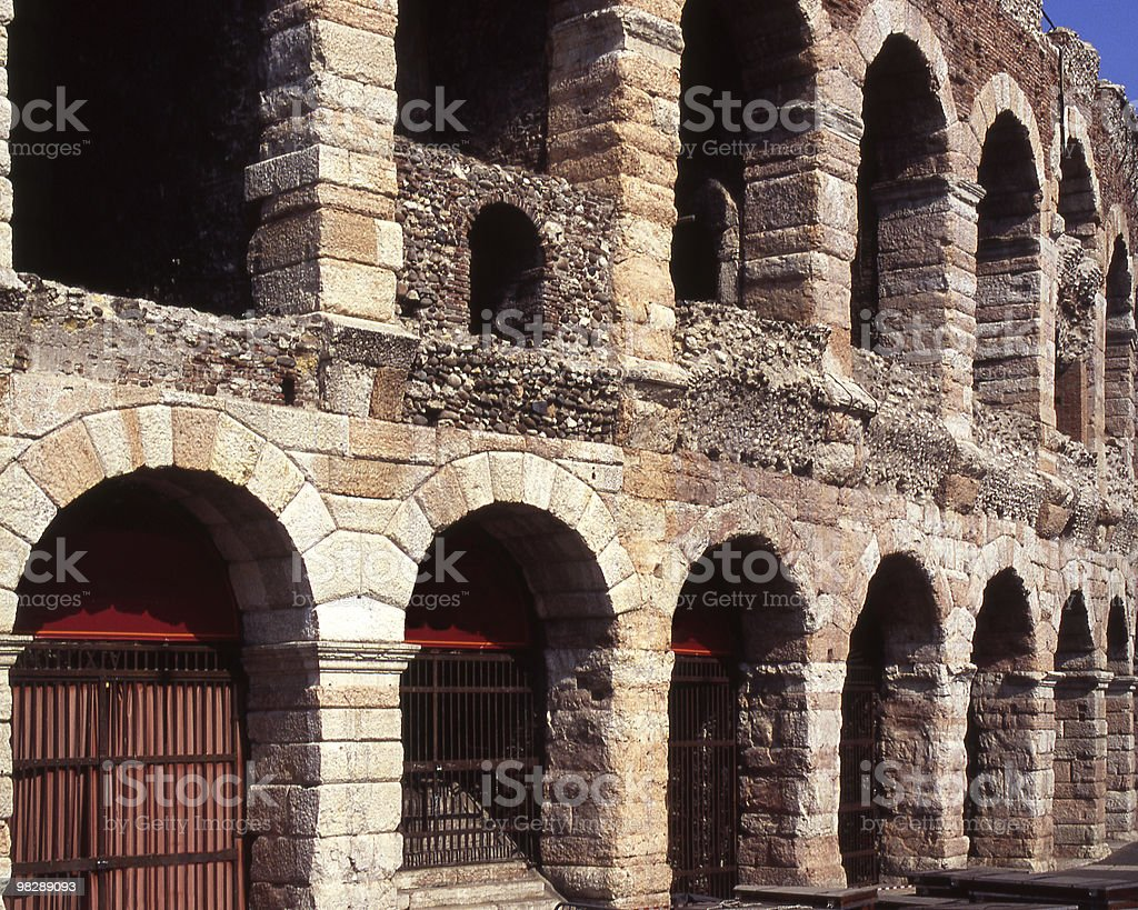 Arena at Verona, Italy royalty-free stock photo
