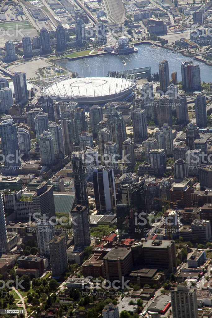 Arena City royalty-free stock photo