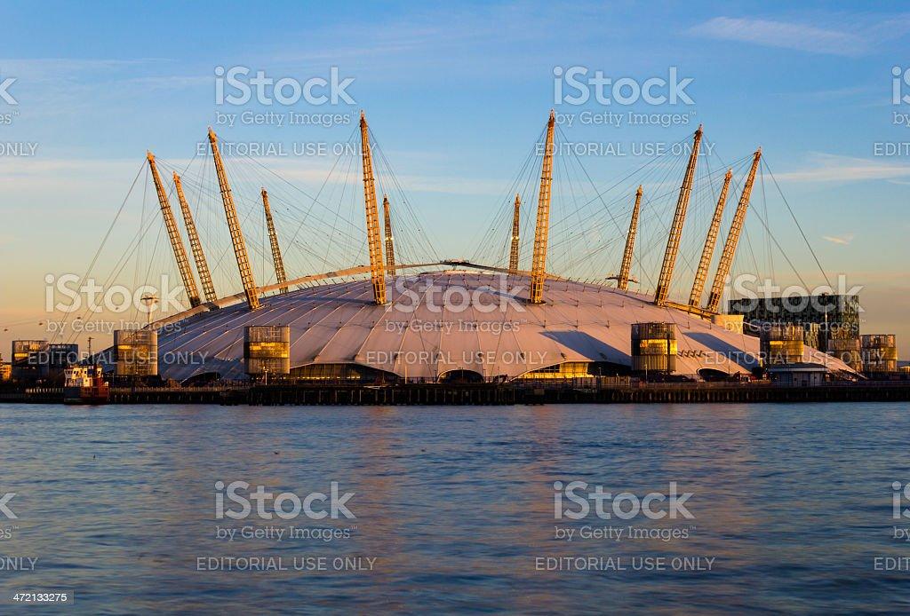 O2 Arena closeup in London stock photo