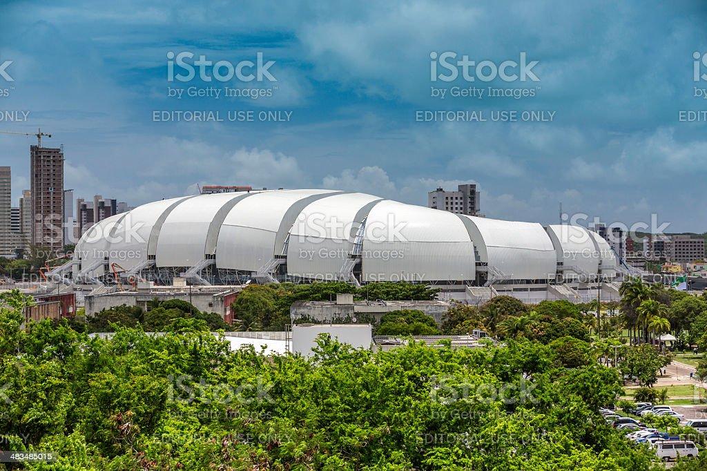 Arena das Dunas soccer stadium in Natal city, Brazil stock photo
