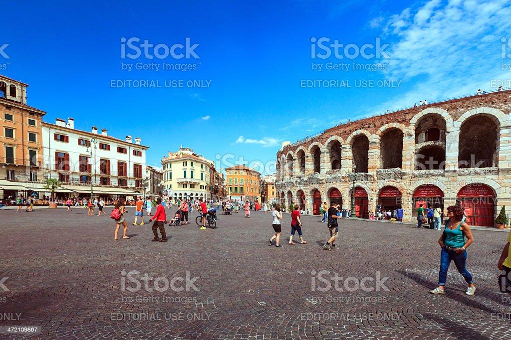 Arena di Verona, Italia - foto stock