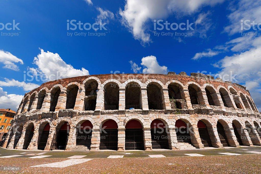 Arena di Verona, Veneto, Italia - foto stock