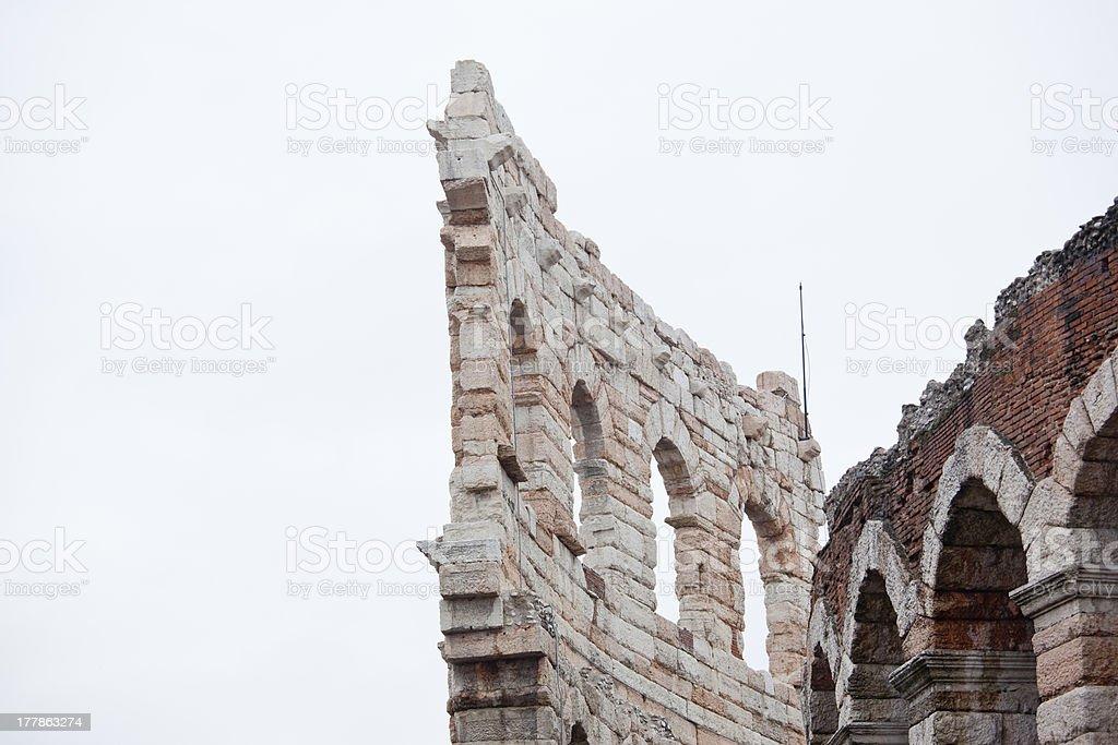 Arena in Verona, Italy royalty-free stock photo