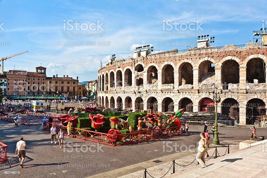 Arena in Verona, Italien – Foto