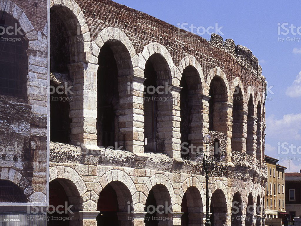 Arena in Verona. Italy royalty-free stock photo