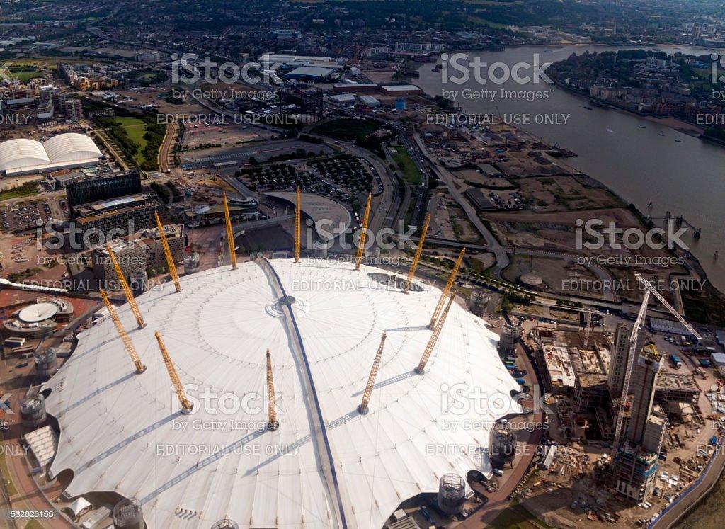 O2 Arena, London stock photo