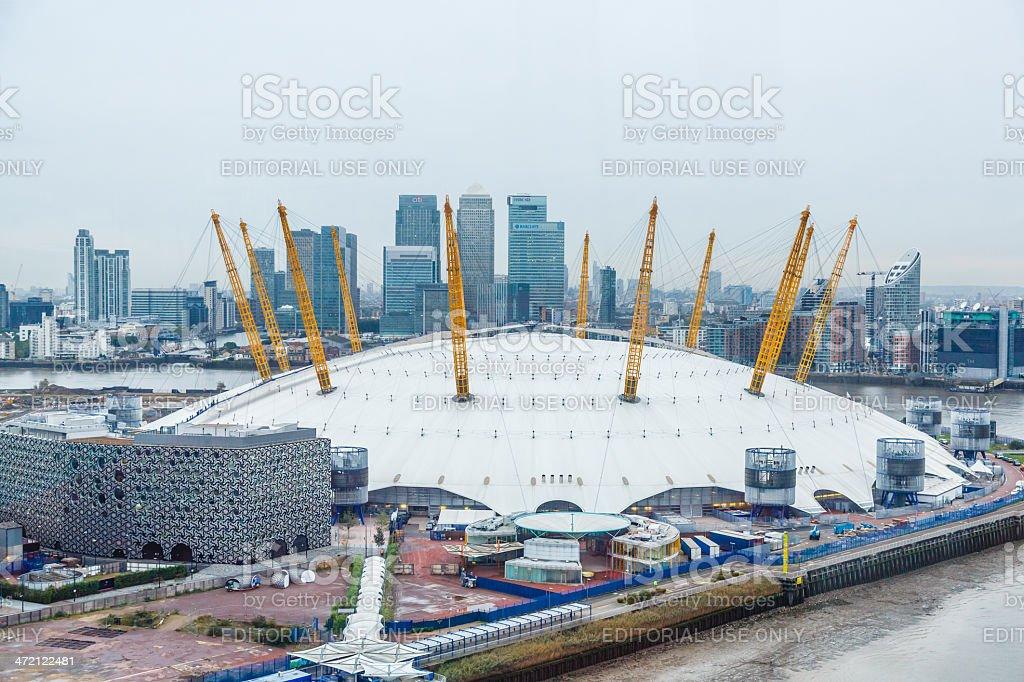 O2 Arena, Millenium Dome stock photo